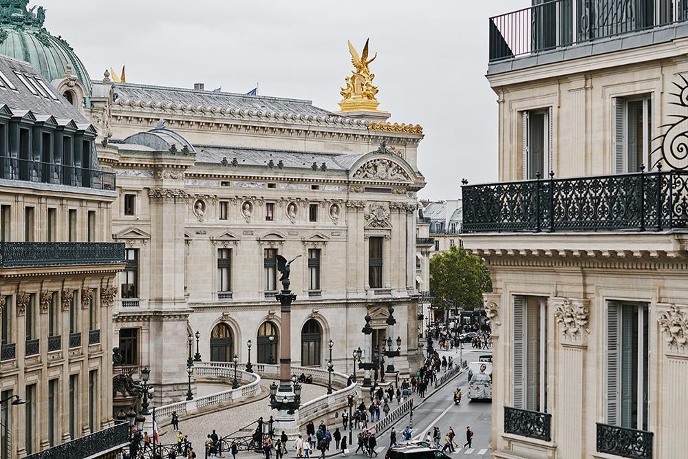 Vue des bureaux de Misr Paris